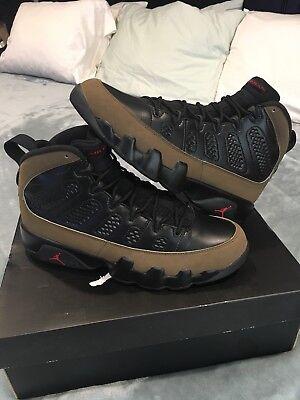 511e90af47af Nike Air Jordan 9 Olive 2012 Sz 8 Bred Infrared 1 2 3 4 5 6 7 10 11 ...