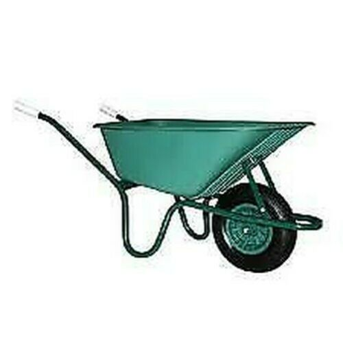 Barrow Hot PVC Tk100 Capacity 100 Lt with Frame Painted Wheelbarrow