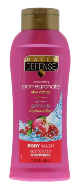 DAILY DEFENSE  BODY WASH POMEGRANATE 443ML Free Fast Delivery