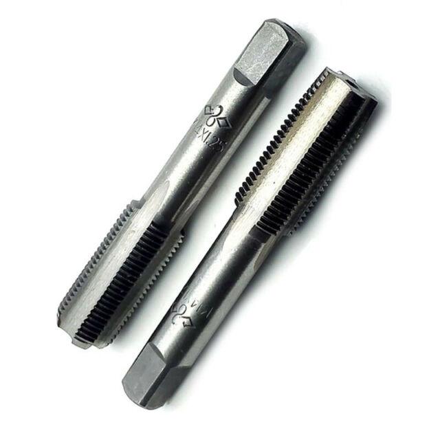 HSS 14mm x 1.5 Metric Taper /& Plug Tap Right Hand Thread M14 x 1.5mm Pitch