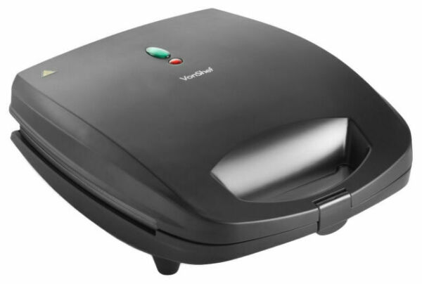 Buy VonShef 920 W 2 in 1 Sandwich Toaster and Waffle Maker