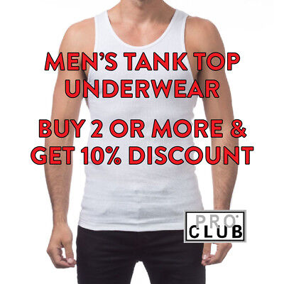 Mens Wife Beater T Shirts