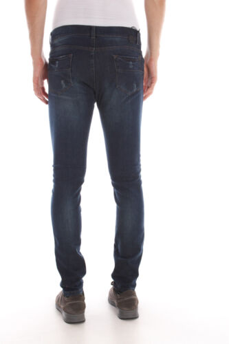 Denim 1111 Pj5307l582 Daniele Alessandrini Uomo Jeans Cotone wIz6n4