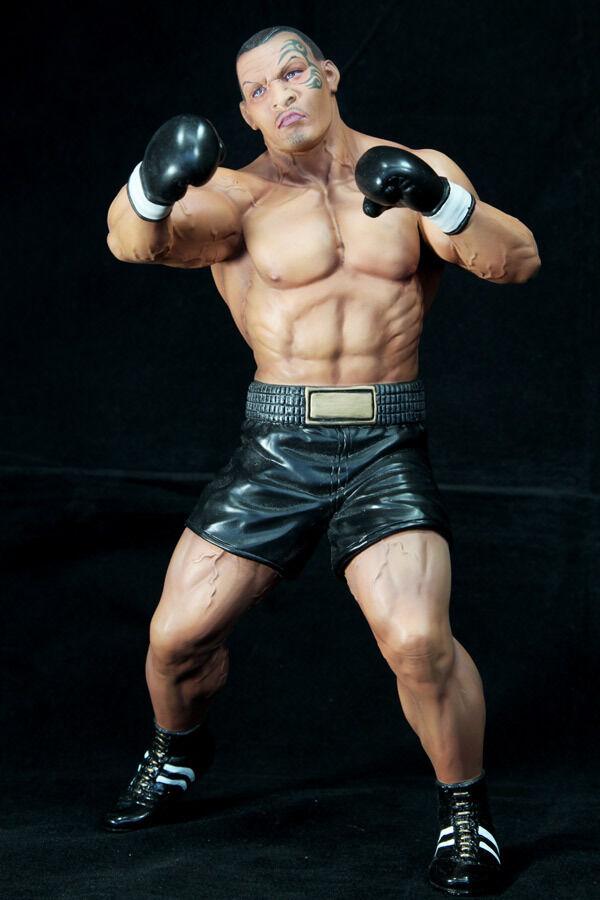 Iron Mike Tyson scatola legenda 1 6 cifra originale modellololo di Kit non verniciato