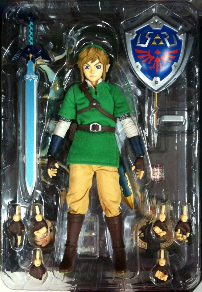 Medicom RAH The Legend of of of Zelda Skyward Sword Link Real Action Hero JAPAN F S 81ceb8