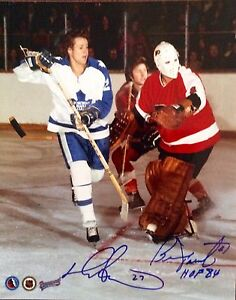 Bernie Parent Toronto Maple Leafs 8x10 Photo