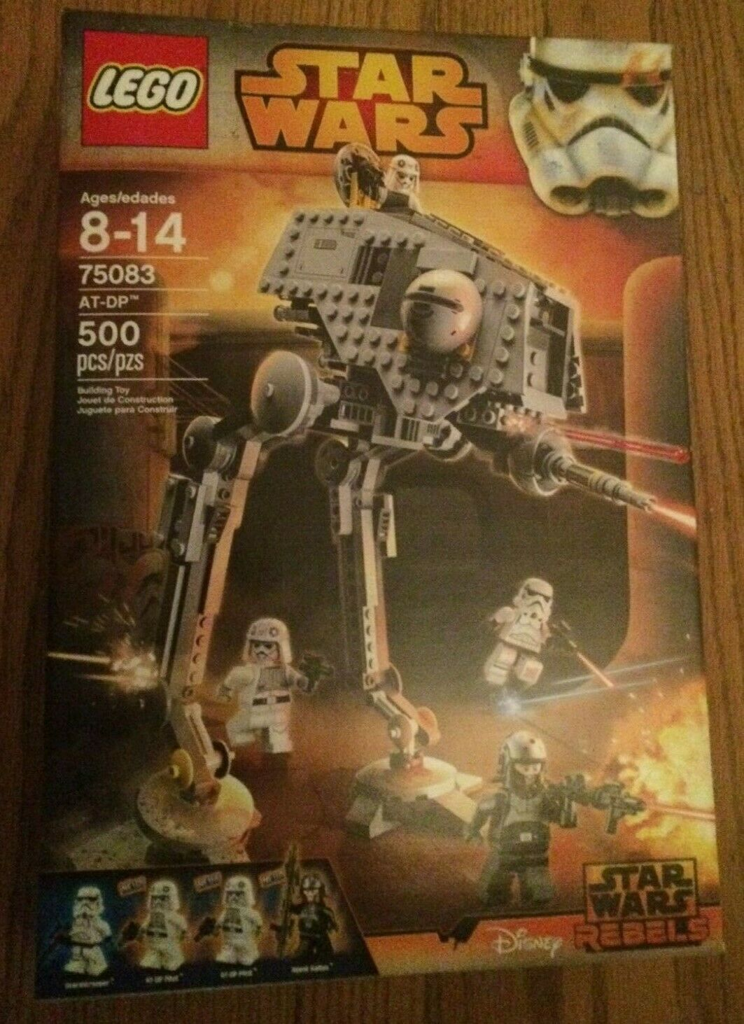 LEGO STAR WARS 75083 AT-DP Set New in Sealed Box