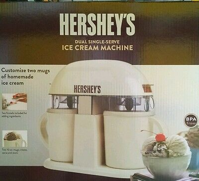 Hershey's Dual Single-Serve Homemade Ice Cream Machine