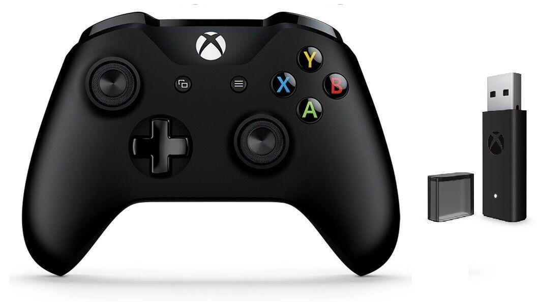 Genuine Microsoft Xbox One Wireless Controller Wireless Adapter For Windows 10 Ebay