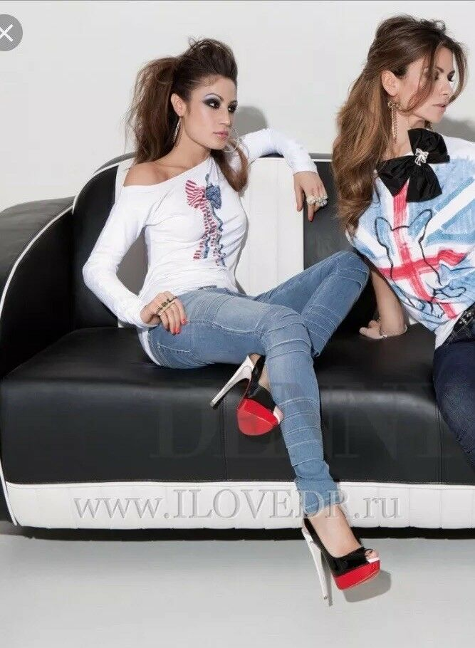 DENNY Rosa MAGLIA t-shirt art. 2920 tg. L
