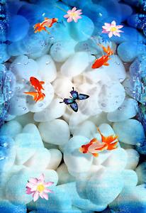 3D Schmetterling 41 Fototapeten Wandbild Fototapete Tapete Familie DE Lemon