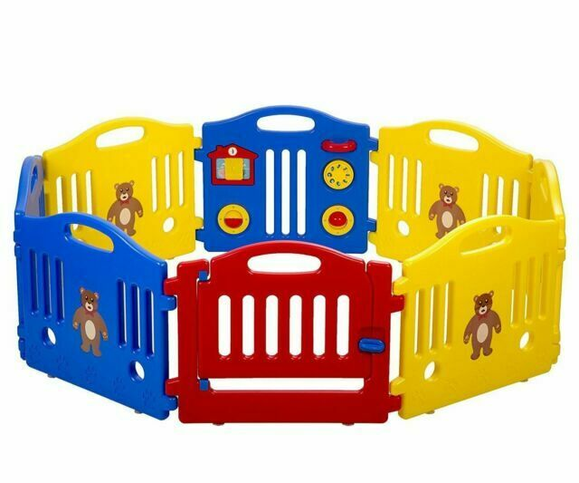 Baby Playpen Kids 8 Panel Safety Play, Outdoor Play Pen