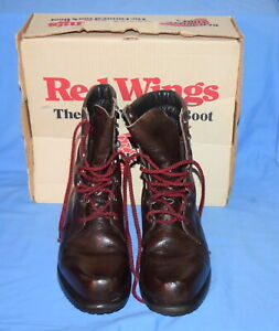 Vintage-RED-WING-859-Boots-Irish-Setter-9-034-Men-039-s-Size-11-1-2-EE-MADE-IN-USA
