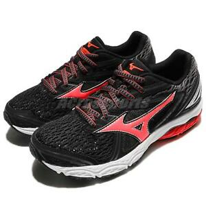 Running Prodigy Sneakers Women Mizuno Black Grey Wave Pink Shoes OnYxwq75