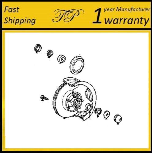 "1974-1978 Ford MUSTANG II Front Wheel Bearing /& Seals Kit 8/"" R.G"