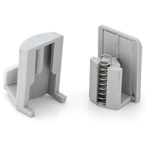 2 x Shower Door Hooks//Guides// Rollers//Wheels//Runners L003