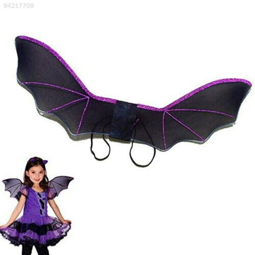 0CC4 Cosplay Halloween Batwings Party Clothing Spider Cute Bat Wings