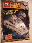 Lego STAR WARS 911510 Polybag DESTROYEUR Tie Fighter LIMITED EDITION Neuf