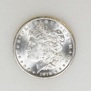 1878-CC-CRISP-BU-Cond-Morgan-Silver-Dollar-First-Year-Nice-Luster-I-15399-G