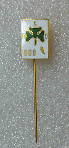 football/soccer pin GREECE PANATHINAIKOS ATHENS 1908 enamel old very rare