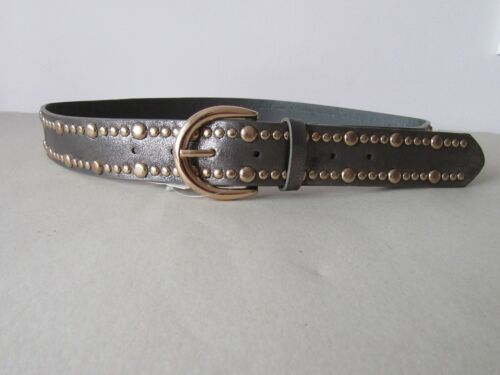 Ladies Womens Faux Leather with Studded and or Sequinned Belts
