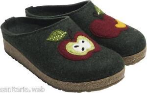 Pantofole Mela 36 Lana 39 Haflinger Apfel 40 Apple Eibe Donna 41 37 38 Verde fRxqtqCSw