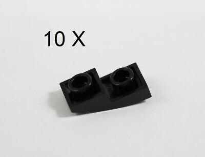 Lego Black 2 x 2 Inverted SLOPE Lot of 10