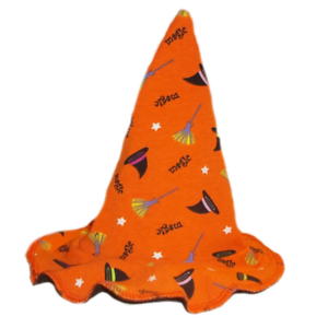 6 Preemie Newborn Toddler Sizes Happy Halloween Orange Magic Witch Baby Hat