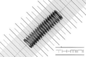 Edelstahl Länge: 55mm Außen Ø: 15mm Druckfeder Drahtstärke: 1,5mm