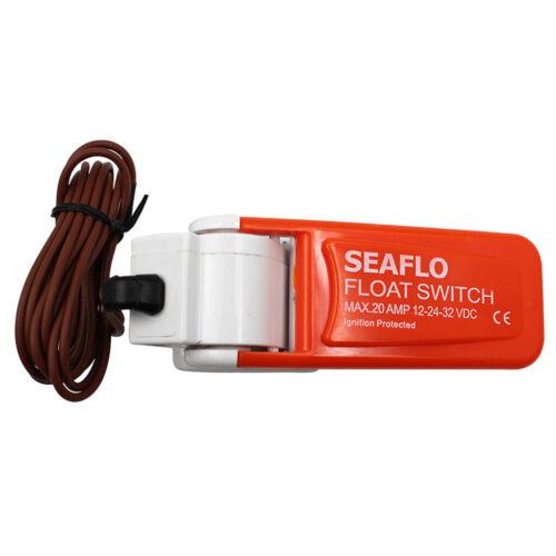 Neue Seaflo Bilgepumpe Schwimmerschalter 12v 24v oder 32v für Boot Yacht New