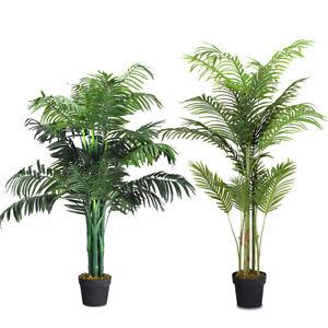 das bild wird geladen kunstpflanze kuenstliche palme kunstbaum zimmerpflanze zimmerpalme dekopflanze