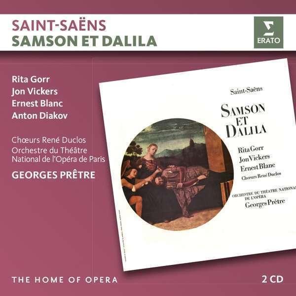 Georges Prêtre - Saint-Saëns: Samson Et Dalila Nuevo CD