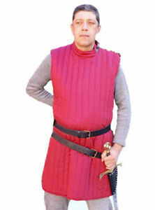 Medieval Gambeson Jacket Padded Armor SCA LARP WMA Multiple Size