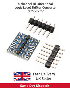 4-channel-Bi-Directional-Logic-Level-Shifter-Converter-3-3V-5V-Arduino-UK-FAST