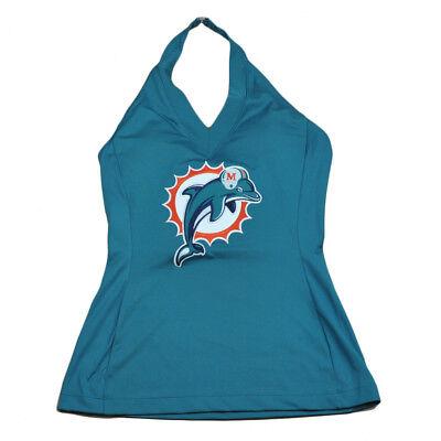 Weitere Ballsportarten EntrüCkung Nfl Miami Dolphins Blown Abdeckung Damen Trägertop Hemd Trikot Sport