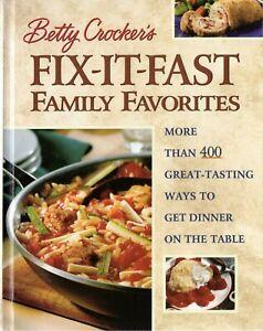 Betty-Crocker-039-s-Fix-It-Fast-Family-Favorites