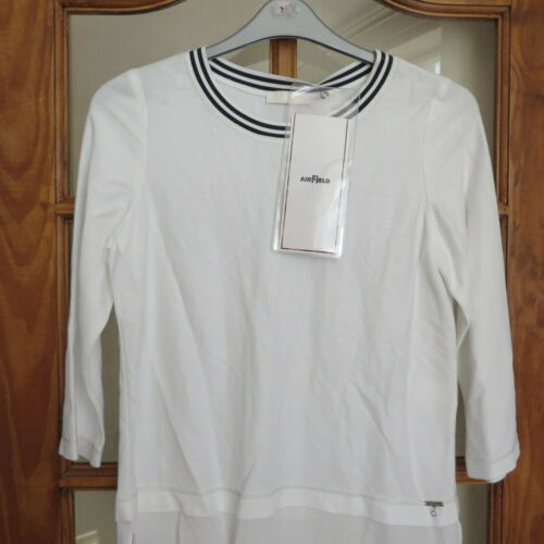 4 Layer 36 3 Look Bust White Sleeves Airfield Shirt Size Bnwt With qSMpUzVG