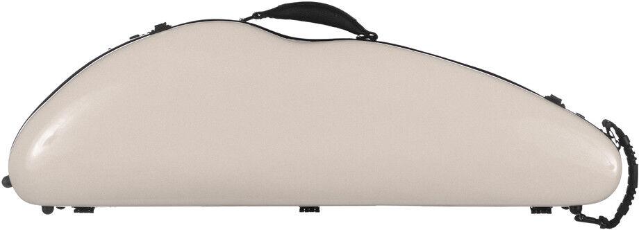 USA Fiberglass violin case SafeFlight 4 4 M-case Pearl