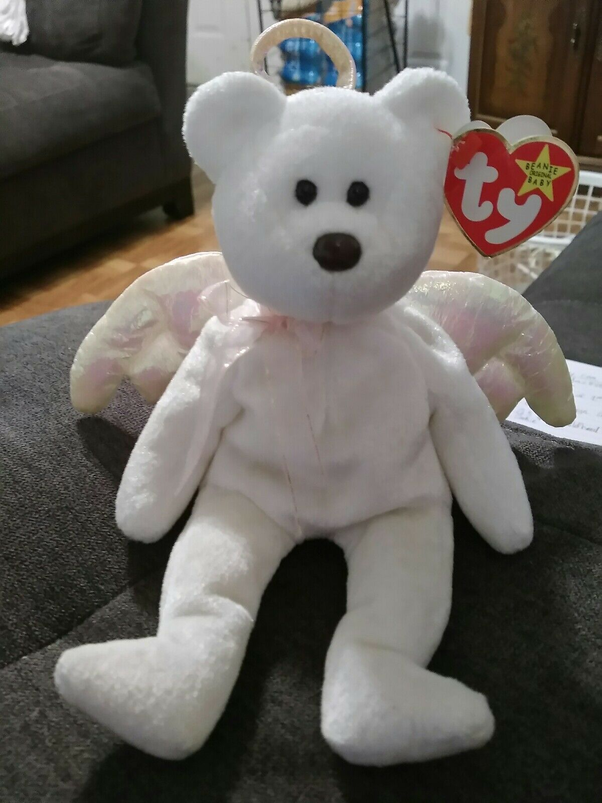 TY Beanie Baby Halo 1998 Limited Edition. Original