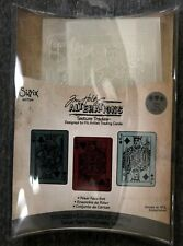 Sizzix Texture Trades Embossing Folders 3-Pack Poker Face Set by Tim Holtz