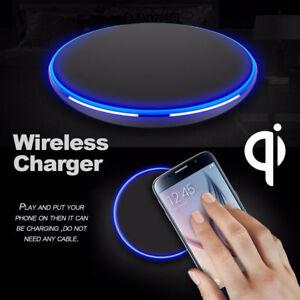 qi drahtloses ladeger t d nne auflage aluminium f r iphone. Black Bedroom Furniture Sets. Home Design Ideas