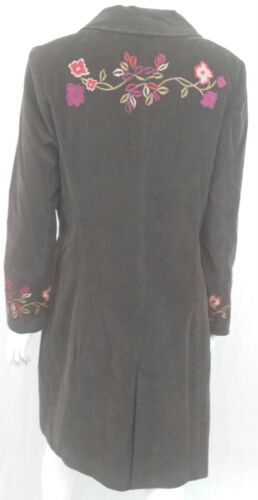V 1281 Taille Uk Veronica Marron Damiani 12 8 Manteau Xnwk80PO