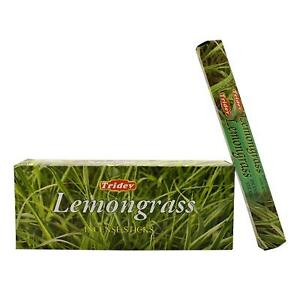 Details about Tridev Lemongrass Incense Sticks Fregrence 6 x 20 Stick (120  Sticks)