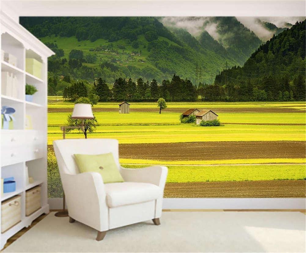 Mature Cosy Field 3D Full Wall Mural Photo Wallpaper Printing Home Kids Decor