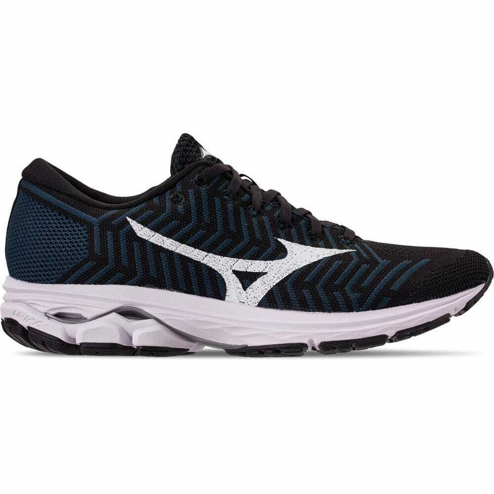Men's  WaveKnit R2 Running shoes Black Ombre bluee 411002 0RE