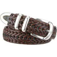 Wilsons Leather Mens Braided Leather Belt