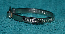VTG 1960s Advertising Wonder Key Ring Keychain ORRIE JORDAN CAPITOL MOTOR AL