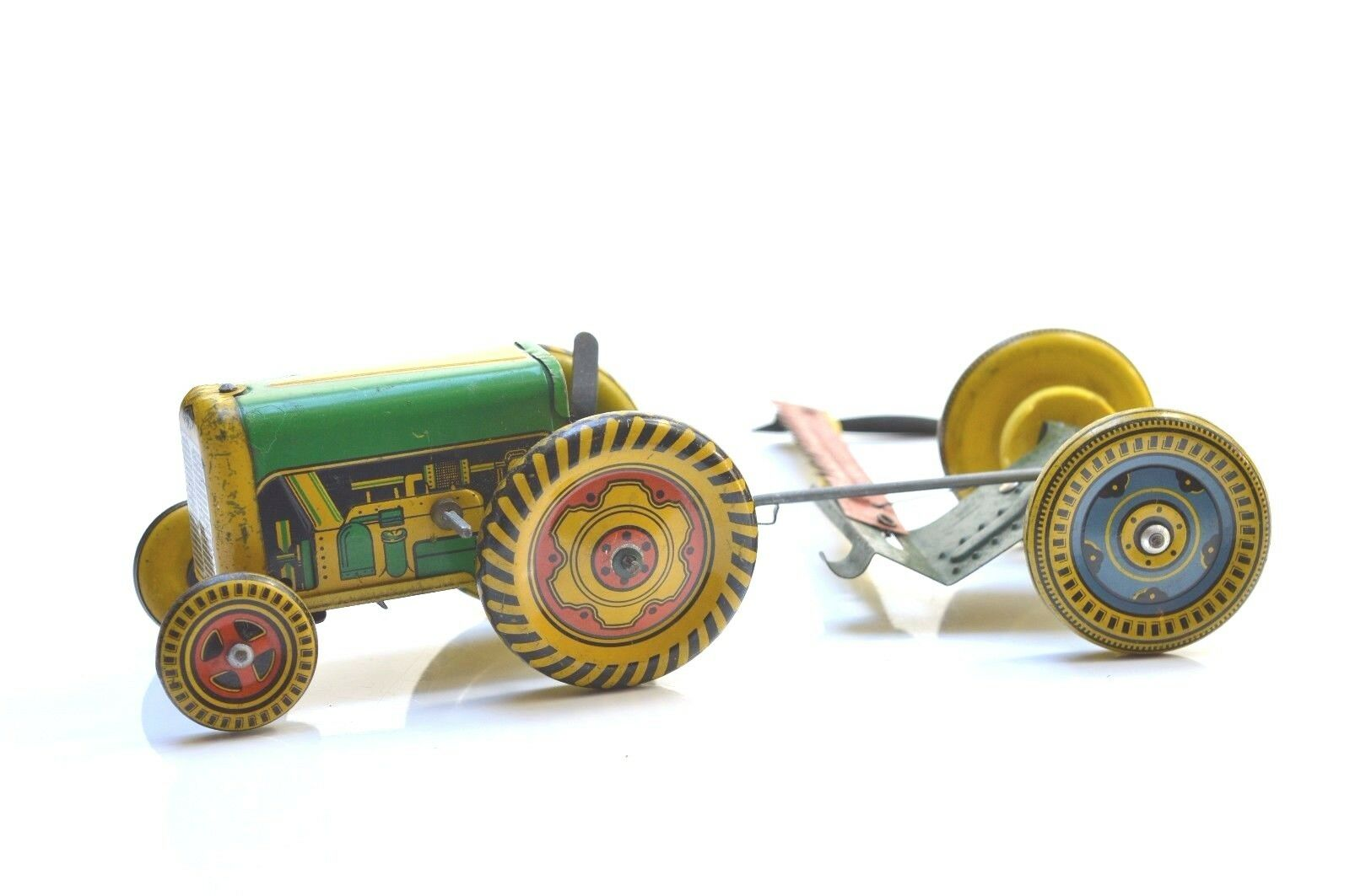 METTOY TRACTOR WITH CUTTING TRAILER