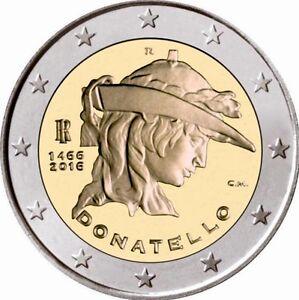 2 euro Italia 2016 commemorativo donatello nuovo fdc *LEGGERE DESCRIZIONE - Italia - 2 euro Italia 2016 commemorativo donatello nuovo fdc *LEGGERE DESCRIZIONE - Italia