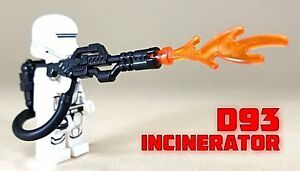 BrickArms D93 INCINERATOR Flamethrower for Minifigures NEW Star Wars